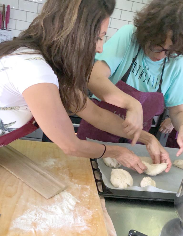 La cucina laboratorio di Fernanda Giamello ad Alba