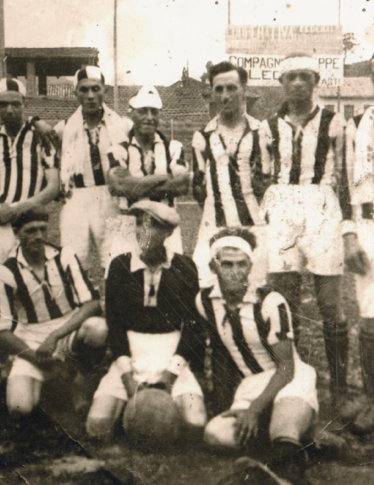 Foto storiche dall'Archivio di Pietro Aloi della Polisportiva Montatese. Roero Coast to Coast