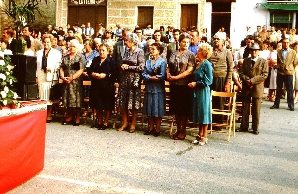 La giornata Europea festeggiata a Corneliano nel 1982