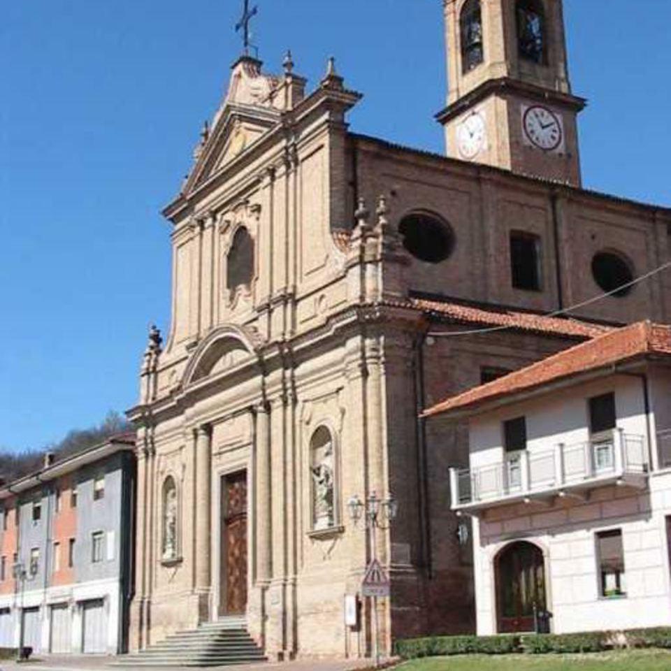 chiesa parrocchiale di Corneliano d'Alba