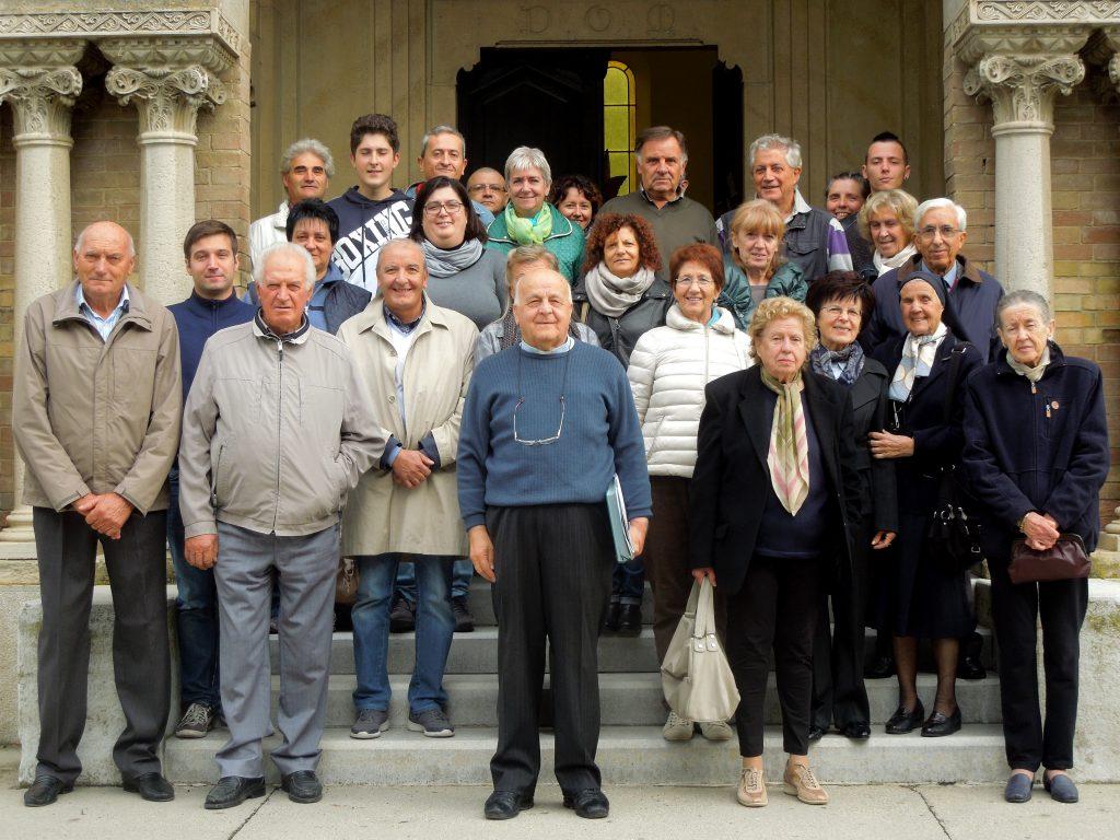 fotografie sul sagrato di San Michele