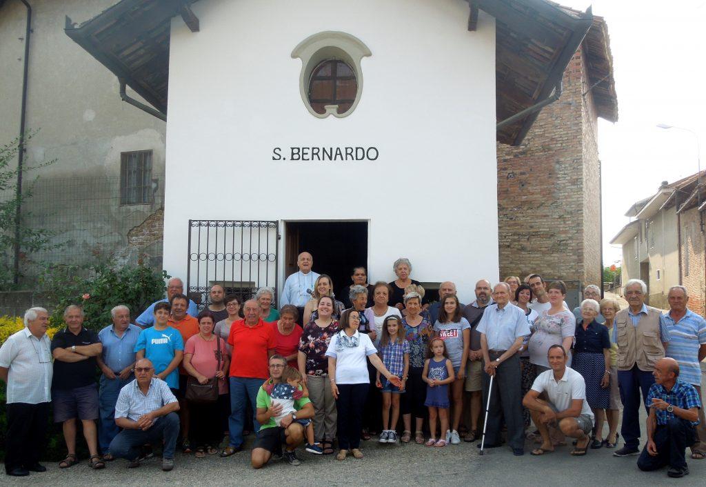 La comunità della Cappella di San Bernardo nella Borgata Lemonte di Corneliano d'Alba