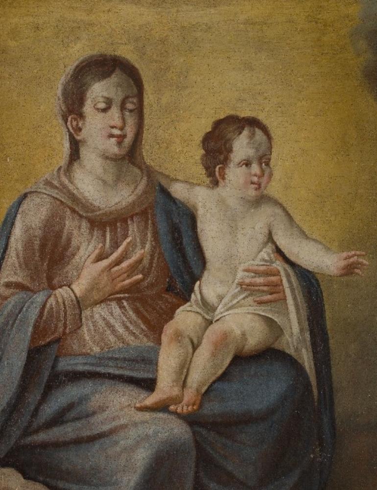 Tela nella Cappella di San Bernardo nella Borgata Lemonte di Corneliano d'Alba