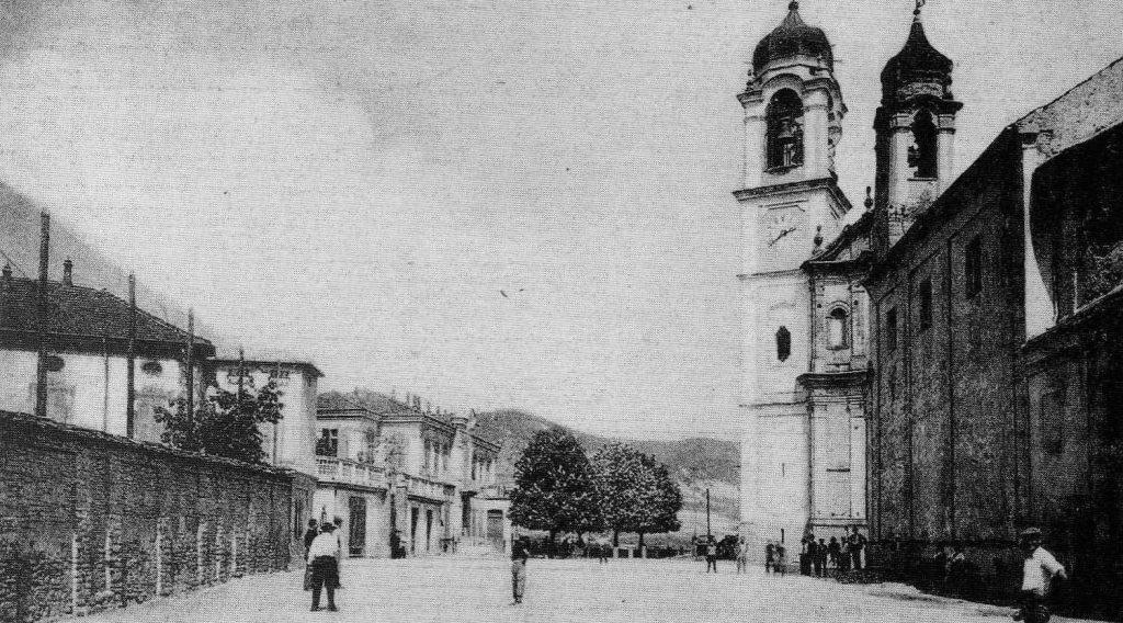il gioco della Pantalera in piazza